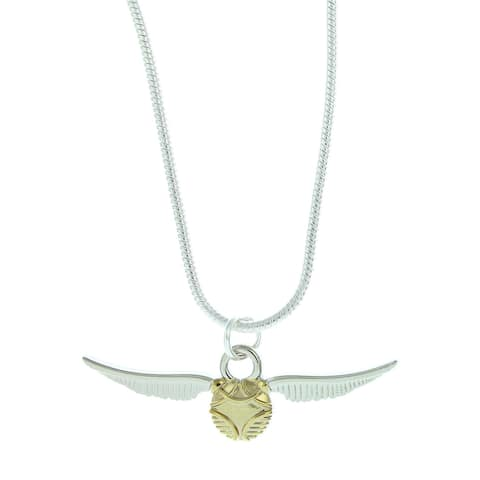 Harry Potter Golden Snitch Cord Necklace