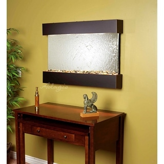 Adagio Reflection Creek With Bronze Mirror in Blackened Copper Finish Fountain