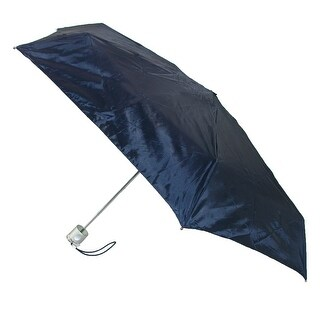 Totes Micro Sized Travel Solid Color Compact Umbrella - One Size