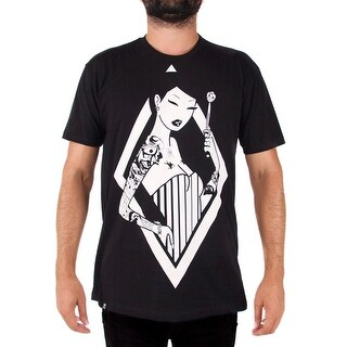 Tokidoki Pin Stripes Mens Black T-Shirt