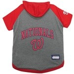 MLB Washington Nationals Pet Hoodie T-Shirt