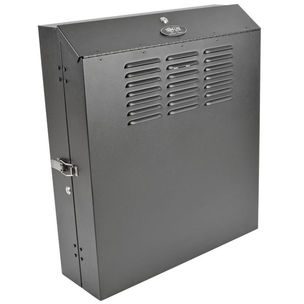 "Tripp Lite 4U Vertical Wall-Mount Rack Enclosure Cabinet, Low-Profile, Switch Depth, 20"" Deep (Srwf4u)"