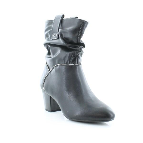 White Mountain Smile Women's Boots Black - 7.5