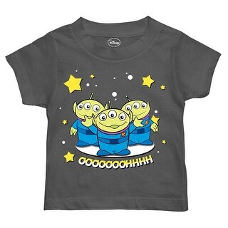 Disney Little Boys' Toddler Toy Story Happy Alien T-Shirt