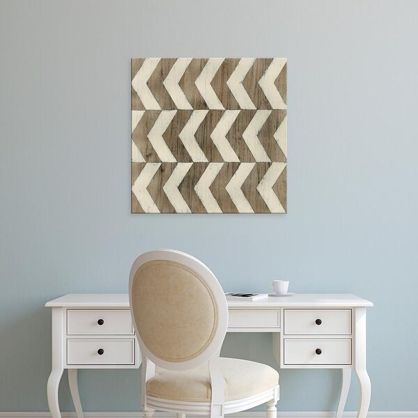 Easy Art Prints June Erica Vess's 'Driftwood Geometry III' Premium Canvas Art