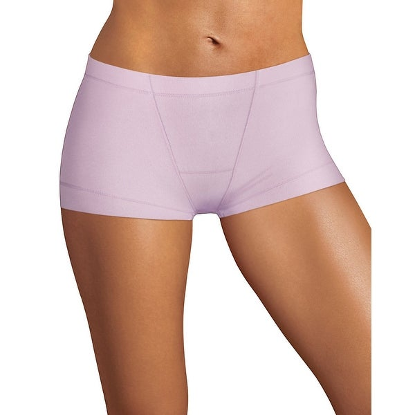 4f885bf3ac77 Shop Maidenform® Dream® Tailored Cotton Boyshort - Color - Tutu Violet -  Size - L/7 - Free Shipping On Orders Over $45 - Overstock - 24099364