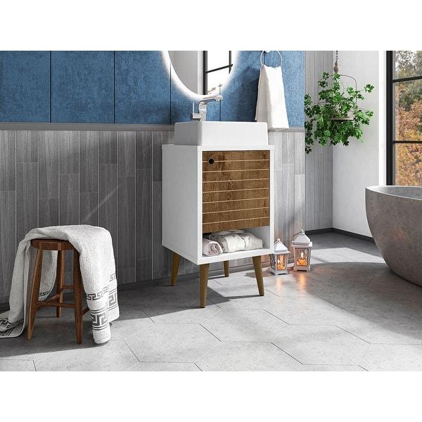 Liberty 17 71 Bathroom Vanity With Sink And Shelf Overstock 31932159