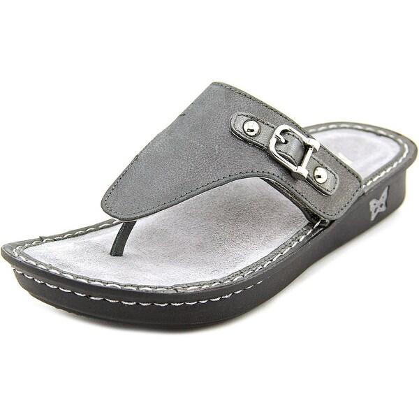 ee1e360b590f Shop Alegria Vanessa Women Open Toe Leather Flip Flop Sandal - Free ...