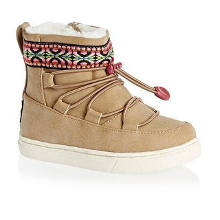 TOMS Girls Alpine Ankle Bungee Snow Boots (2 options available)