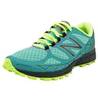 New Balance Vazee Summit Women Round Toe Synthetic Blue Trail Running