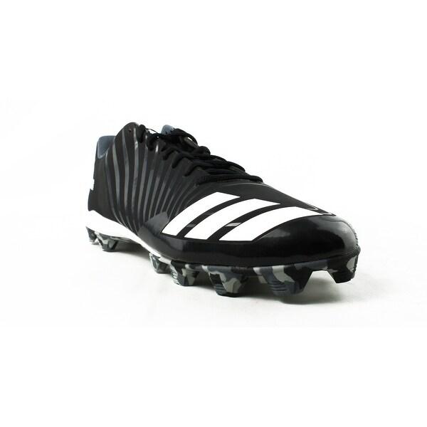 cfbd4c98f1038 Shop Adidas Mens Icon Md Black Baseball Cleats Size 15 - On Sale ...