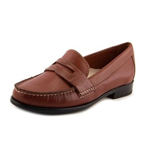 Cole Haan Alexa Penny Moc II Women Round Toe Leather Loafer