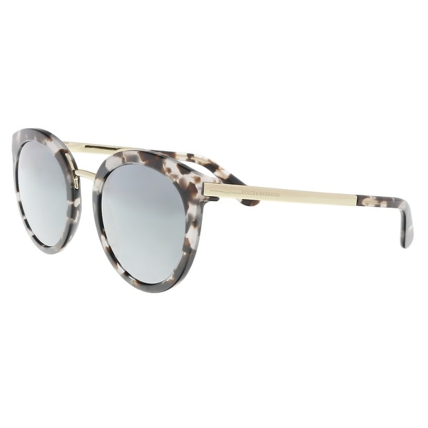 c84ba66678fc Dolce & Gabbana DG4268 28886G Cube Havana Fog Cat Eye Sunglasses - 52-22