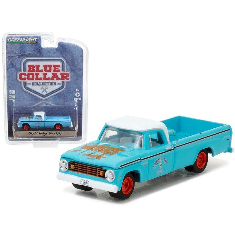 69e97c1b71e7 1967 Dodge D200 Pickup Truck Grump\'s Garage 1/64 Diecast Model Car by  Greenlight