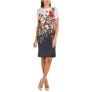 Link to St. John Silk-Blend Shift Dress Similar Items in Dresses