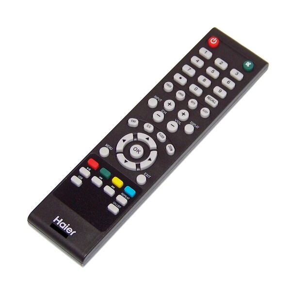 OEM Haier Remote Originally Shipped With: 24E2000, 24E2000A