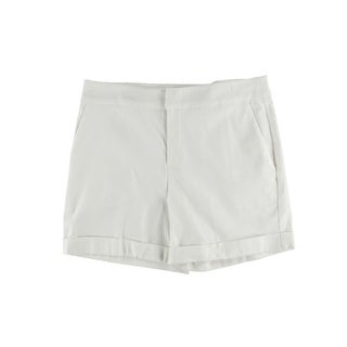 Karen Kane Womens Woven Cuffed Dress Shorts