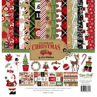 "Echo Park Collection Kit 12""X12""-Celebrate Christmas"