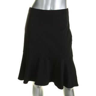 Lauren Ralph Lauren Womens Flounce Skirt Drop-Waist Ruffled