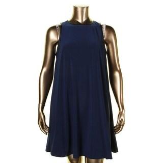 Lauren Ralph Lauren Womens Wear to Work Dress Faux Trim Sleeveless (2 options available)