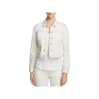 Eileen Fisher Womens Petites Denim Jacket Casual Long Sleeve - ps