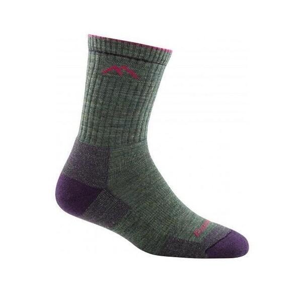 Darn Tough Women's Solid Micro Crew Cushion Socks - Lifetime Guarantee! - 1903