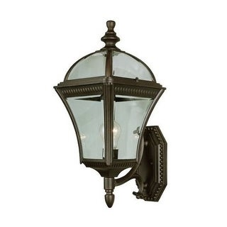 Trans Globe Lighting 5083 Single Light Up Lighting Wall Large Outdoor Wall Sconce from the Outdoor Collection