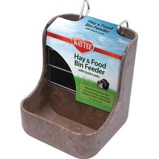 Hay-n-food Bin Feeder