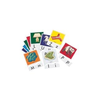 Didax Alphabet Matching Puzzle Card Set