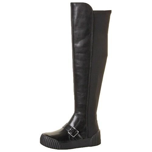 Marc Jacobs Thompson OTK Women's Combat Sneaker Boots