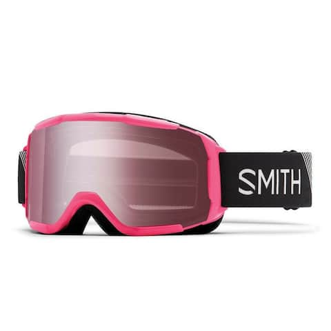 Smith Optics Daredevil Youth Snow Goggles (Pink Frame/Ignitor Mirror Lens) - Pink