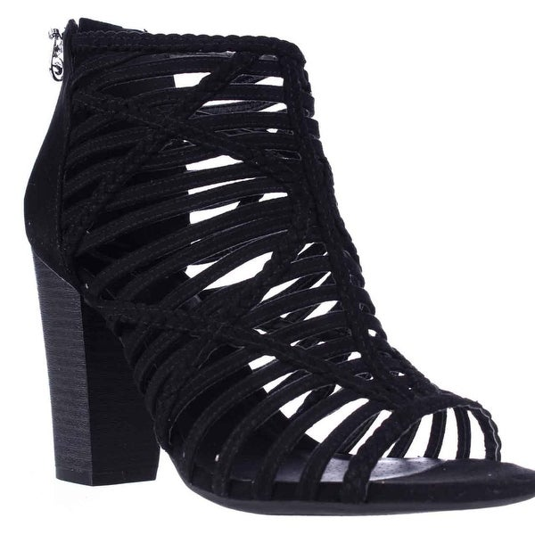 233c743937387 Shop G by GUESS Jelus Strappy Block Heel Sandals