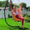 Sunnydaze Hanging Hammock Swing - Thumbnail 11