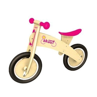 NEW & SEALED! Diggin Active Skuut Wooden Balance Bike Pink