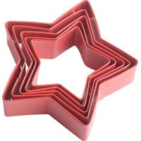 Metal Cookie Cutter Set 5/Pkg-Stars