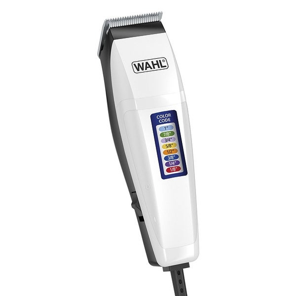 Wahl Home Haircutting with Color Coded Guide Comb Clipper 17-pc Kit -
