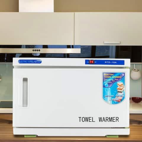 UV & Heating 16L Towel Tool Sterilizer Warmer Cabinet