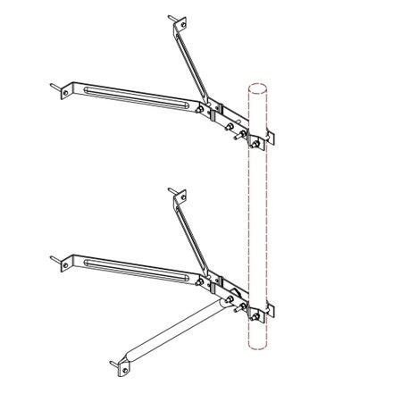 "Nello Corporation - 18"" Clearance Wall Mount"