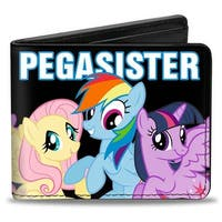 Pegasister Ponies Weathered Bi Fold Wallet - One Size Fits most