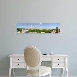Easy Art Prints Panoramic Images's 'Panoramic aerial view of Washington D.C.' Premium Canvas Art