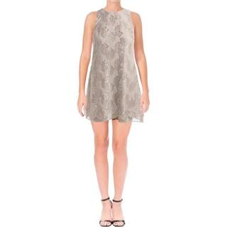 Lauren Ralph Lauren Womens Petites Olevia Cocktail Dress Lace Sleeveless - 4P