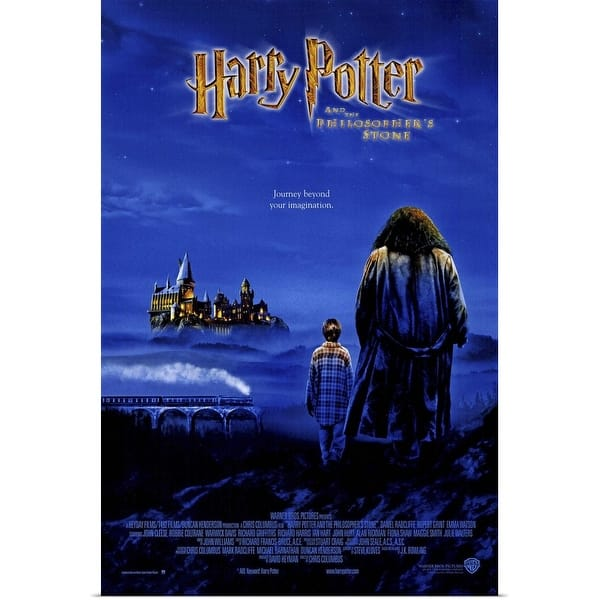 Shop Black Friday Deals On Harry Potter And The Sorcerers Stone 2001 Poster Print Overstock 24130636