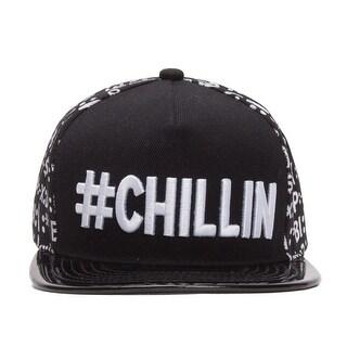 #CHILLIN Emoticon Polished Bill Snapback