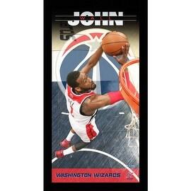 John Wall Washington Wizards Player Profile Wall Art 9.5x19 Framed Photo