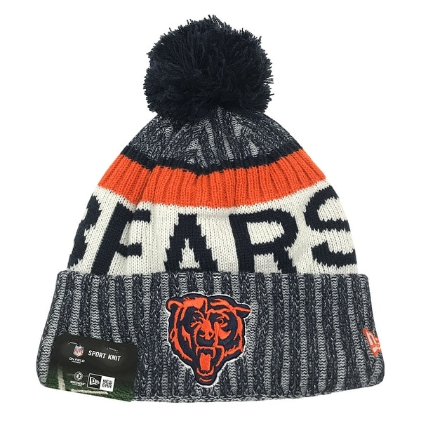 65db86aec42 Shop New Era Chicago Bears Classic Knit Beanie Cap Hat NFL 2017 On Field  11462741 - Free Shipping On Orders Over  45 - Overstock - 17743734