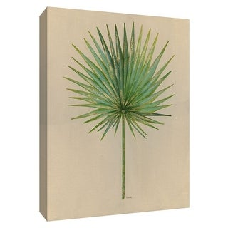 "PTM Images 9-148748  PTM Canvas Collection 10"" x 8"" - ""Oasis I"" Giclee Leaves Art Print on Canvas"