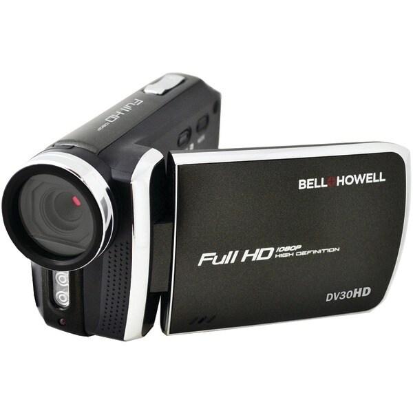 Bell+Howell Dv30Hd-Bk 20.0 Megapixel 1080P Dv30Hd Fun-Flix Slim Camcorder (Black)