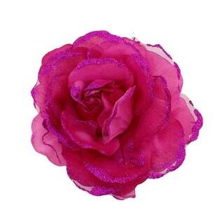 Blooming Beauty Glitter Flower Hair Accessory