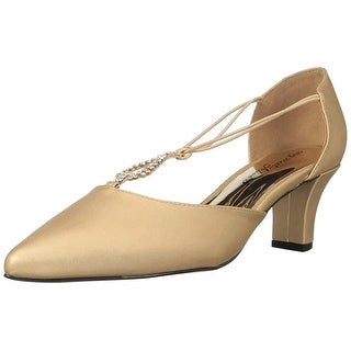 Easy Street Womens MoonLight Pointed Toe D-orsay Pumps