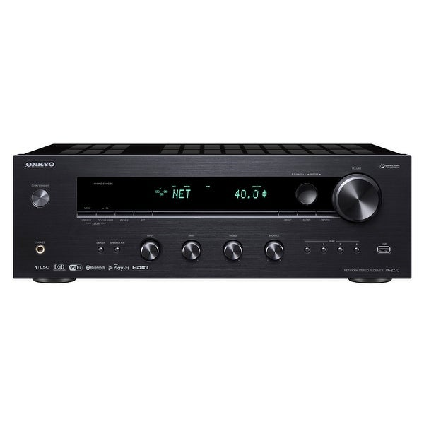Onkyo TX-8270 Network Stereo Receiver with Built-In HDMI, Wi-Fi, and Bluetooth